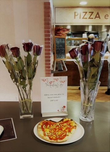 Valentine's Day pizza!